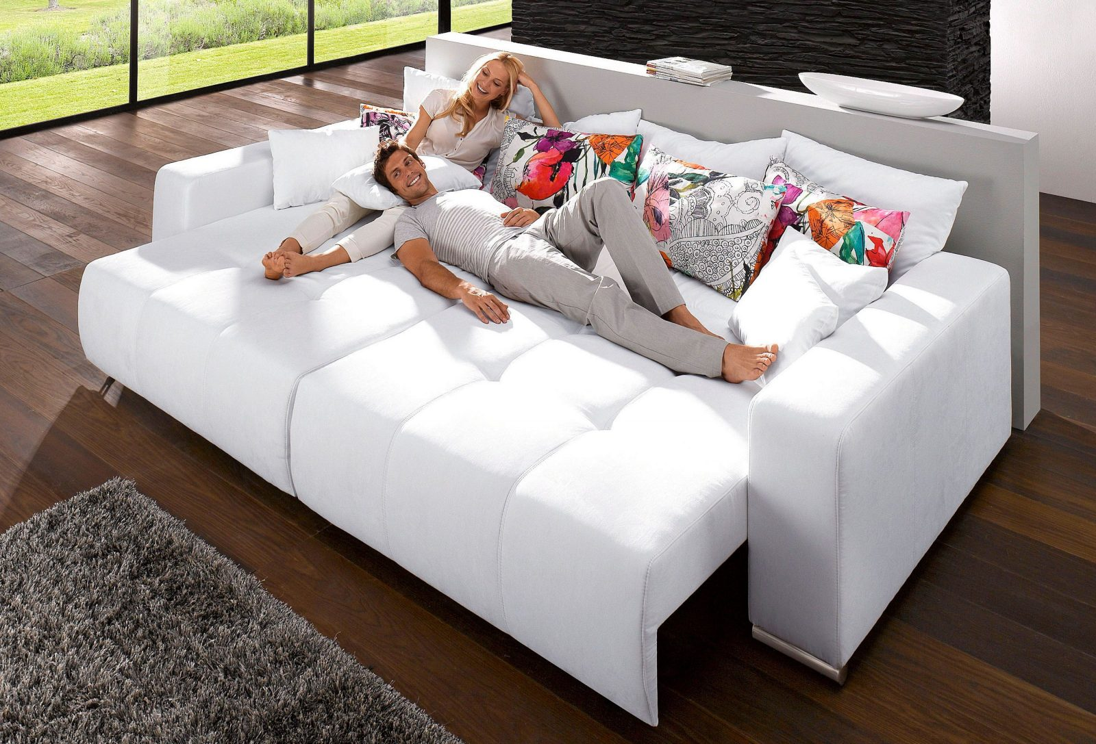 Billig Big Sofa Mit Schlaffunktion  Sofas In 2019  Sofa Big Sofas von Rattan Sofa Mit Schlaffunktion Photo