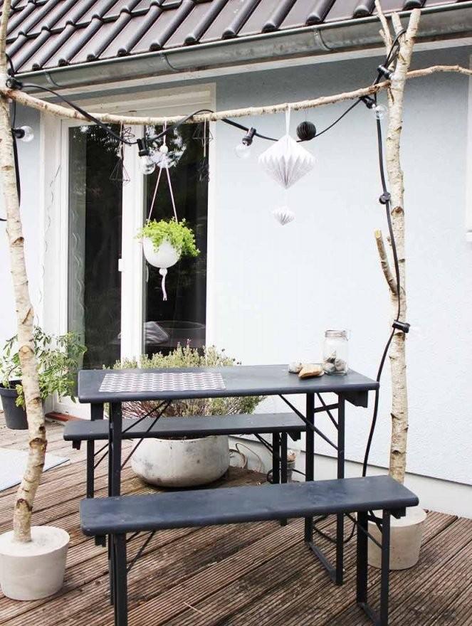 Birkenstamm Deko Selber Machen  Für Drinnen  Draußen  Garden von Haus Dekoration Selber Machen Photo