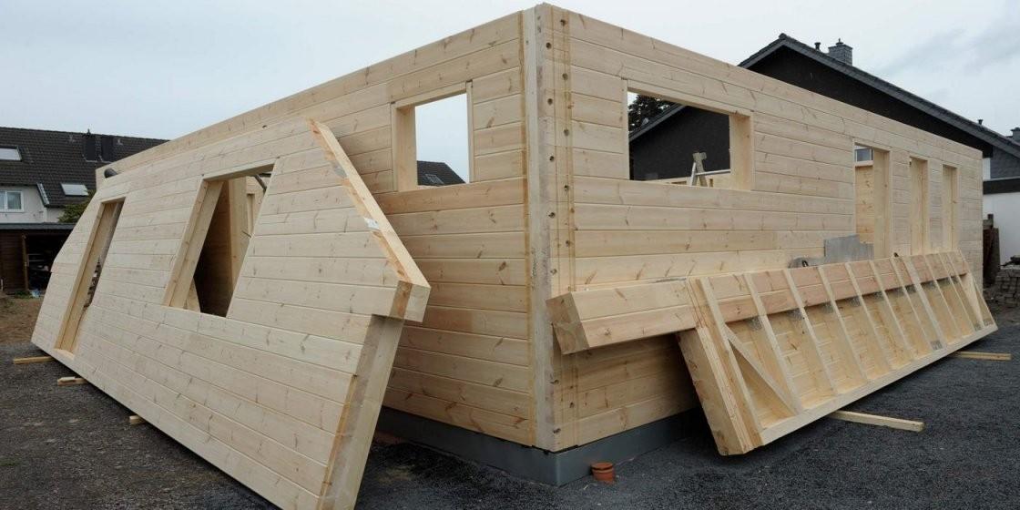 Blockhaus In Eigenleistung von Blockhaus Selber Bauen Kosten Bild