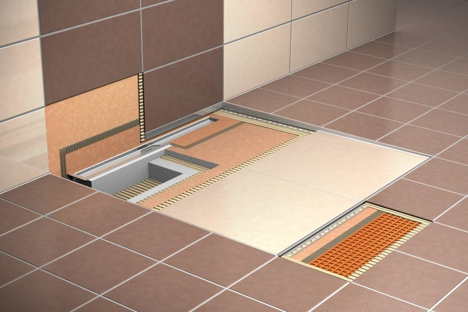 Bodengleiche Dusche Einbauen Einbautiefe Gefälle Estrich von Ablauf Für Bodengleiche Dusche Bild