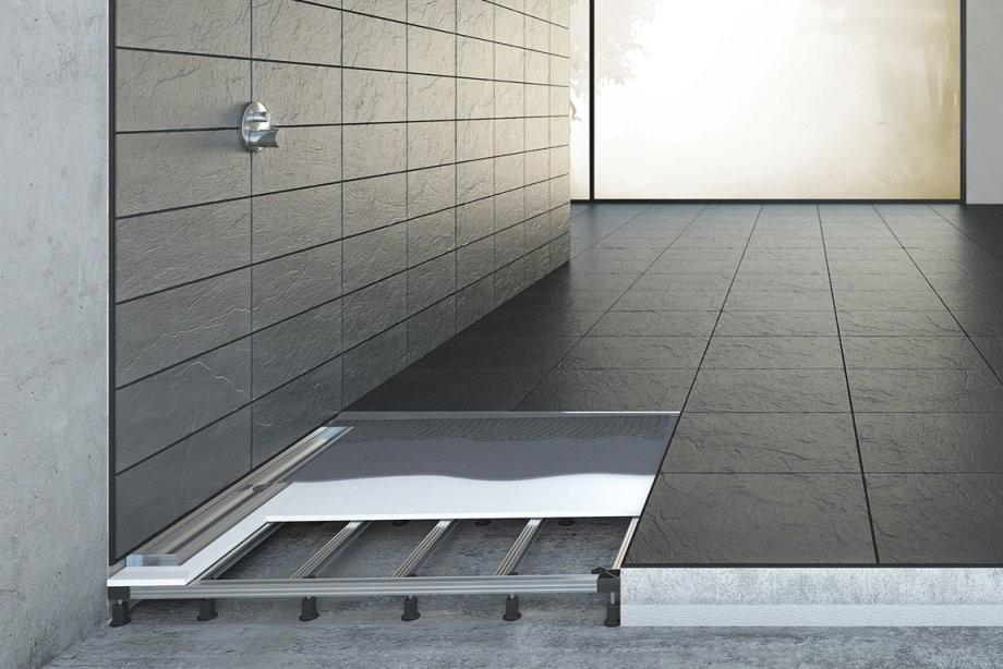 Bodengleiche Dusche Einbauen Einbautiefe Gefälle Estrich von Bodengleiche Dusche Einbauen Estrich Photo