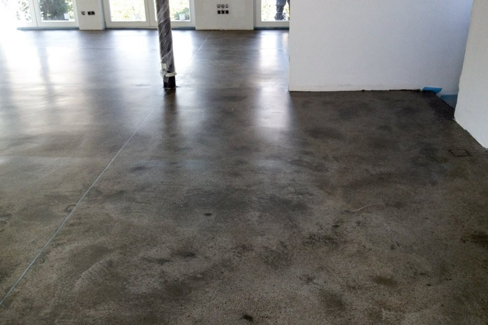 Bodentypen von Polierter Estrich Als Fussboden Photo