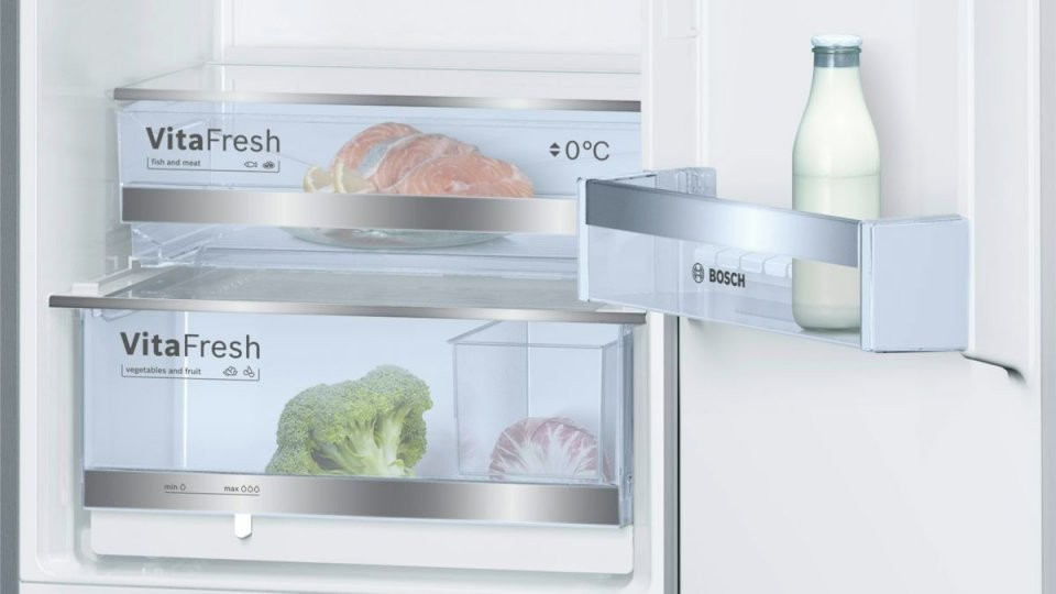 Bosch  Kde33Ai40  Freistehende Kühlgefrierkombination Mit von Kühlschrank Mit Gefrierfach Gebraucht Photo