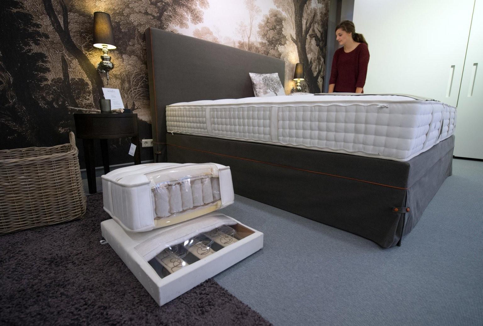 Boxspringbett Im Schlafzimmer Das Sind Die Nachteile von Normales Bett Zum Boxspringbett Umbauen Bild