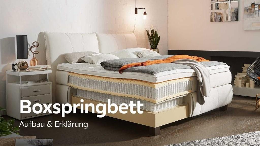 Boxspringbett Kaufen  Worauf Ist Zu Achten • Schöne Möbel Kaufen von Boxspringbett Kaufen Worauf Achten Photo