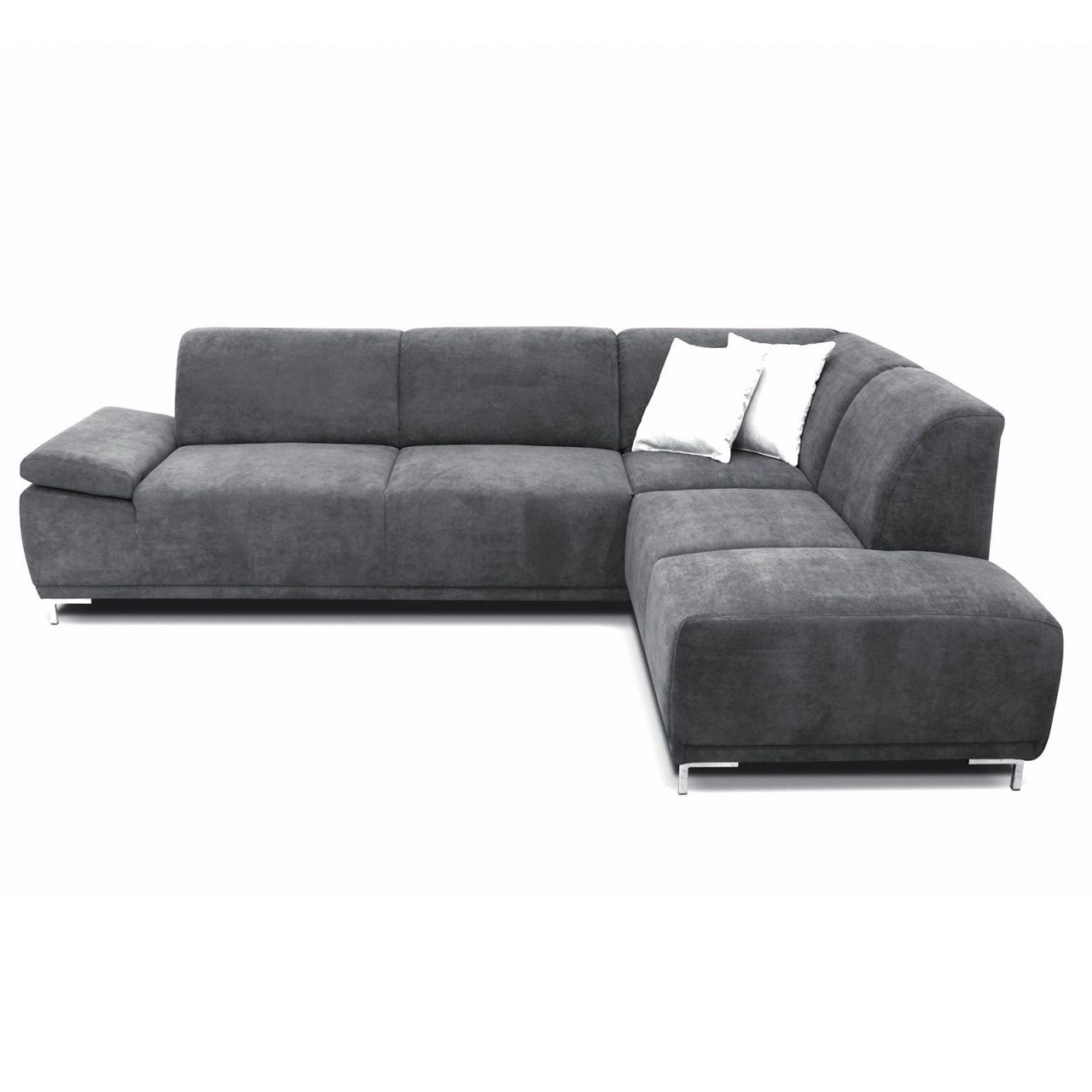 Boxspringsofa  Anthrazit  Ottomane Rechts  Furniture  Sofa von Eckcouch Mit Schlaffunktion Roller Photo