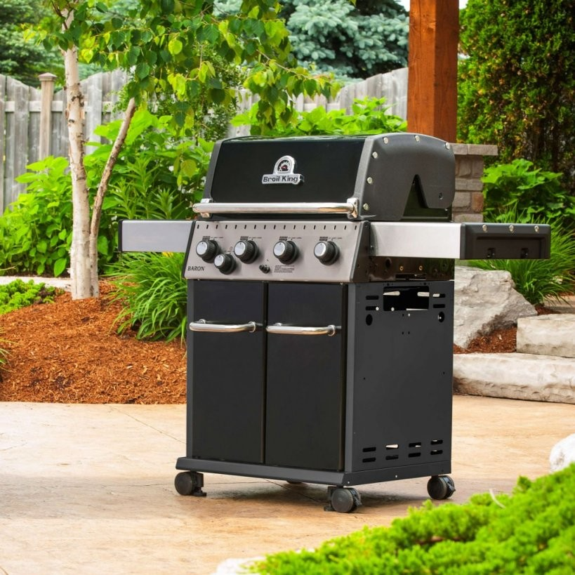 Broil King Bbq  Baron 440  A Bell  Gas Bbq von Broil King Baron 440 Test Bild