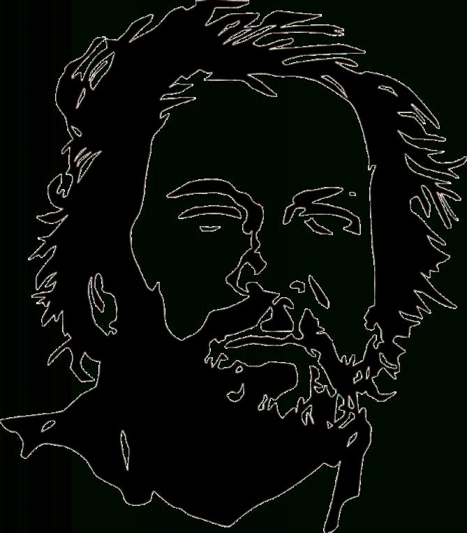 Bud Spencer Illustrazione  Bud Spencer  Stencil Vorlagen von Bud Spencer Schwarz Weiß Bild