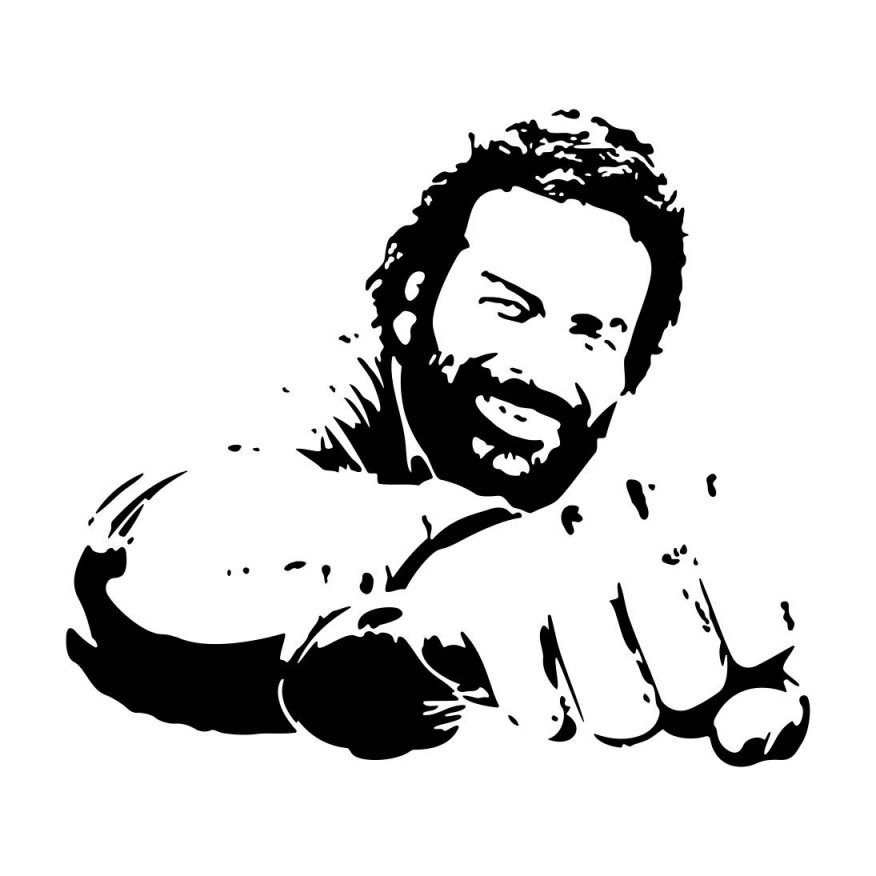 Bud Spencer Png  Free Bud Spencer Transparent Images 6359  Pngio von Bud Spencer Schwarz Weiß Bild