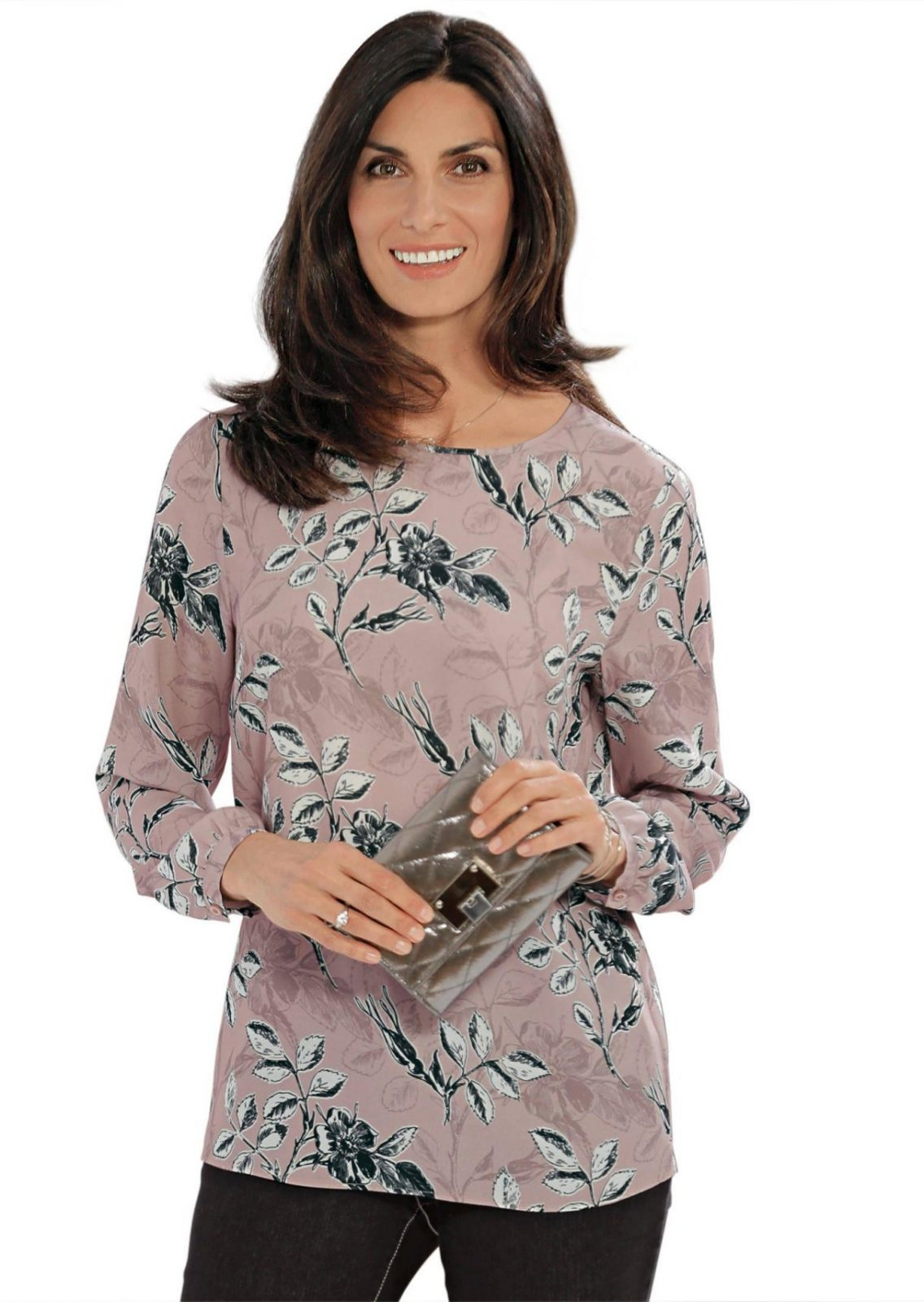 Bügelarme Bluse In Angenehmer Ware Online Kaufen  Atelier Goldner von Atelier Goldner Schnitt Lagerverkauf Photo