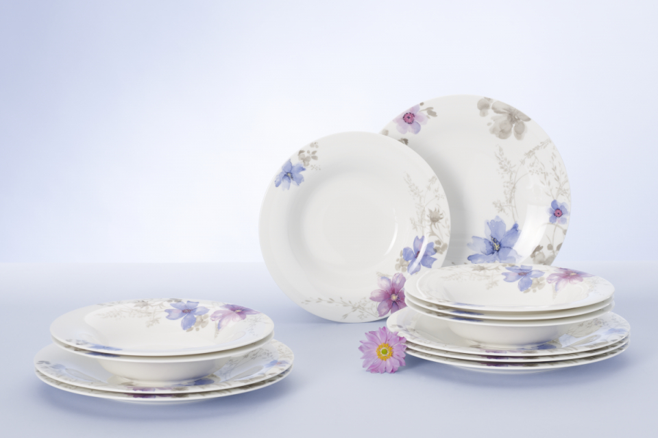 Buy Villeroy  Boch Mariefleur 12 Piece Dinner Set £19499  Mahahome von Villeroy & Boch Royal Basic Set 30 Teilig Photo
