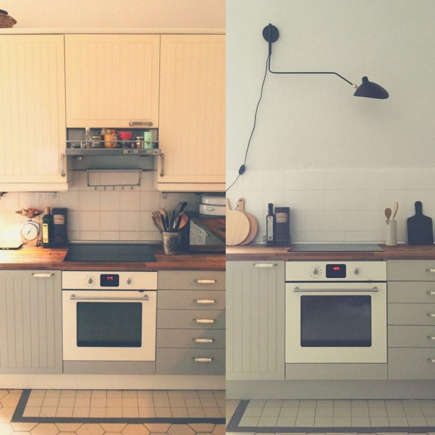 Bystorm  Nordicinteriør von Küche Verschönern Vorher Nachher Photo