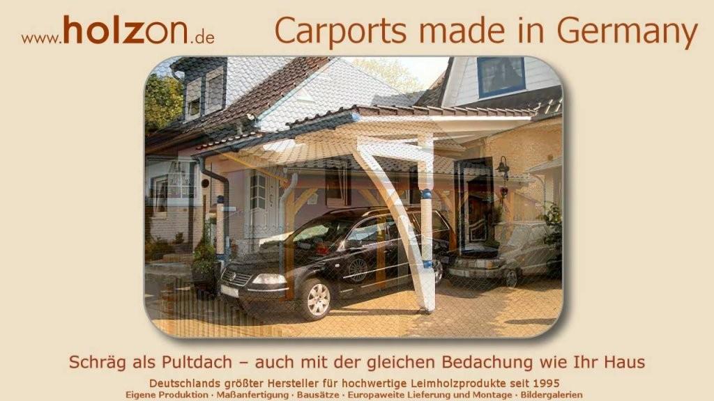 Carport Architektur Allgemein  Wwwselberbauen von Carport Selber Bauen Architektur Allgemein Photo