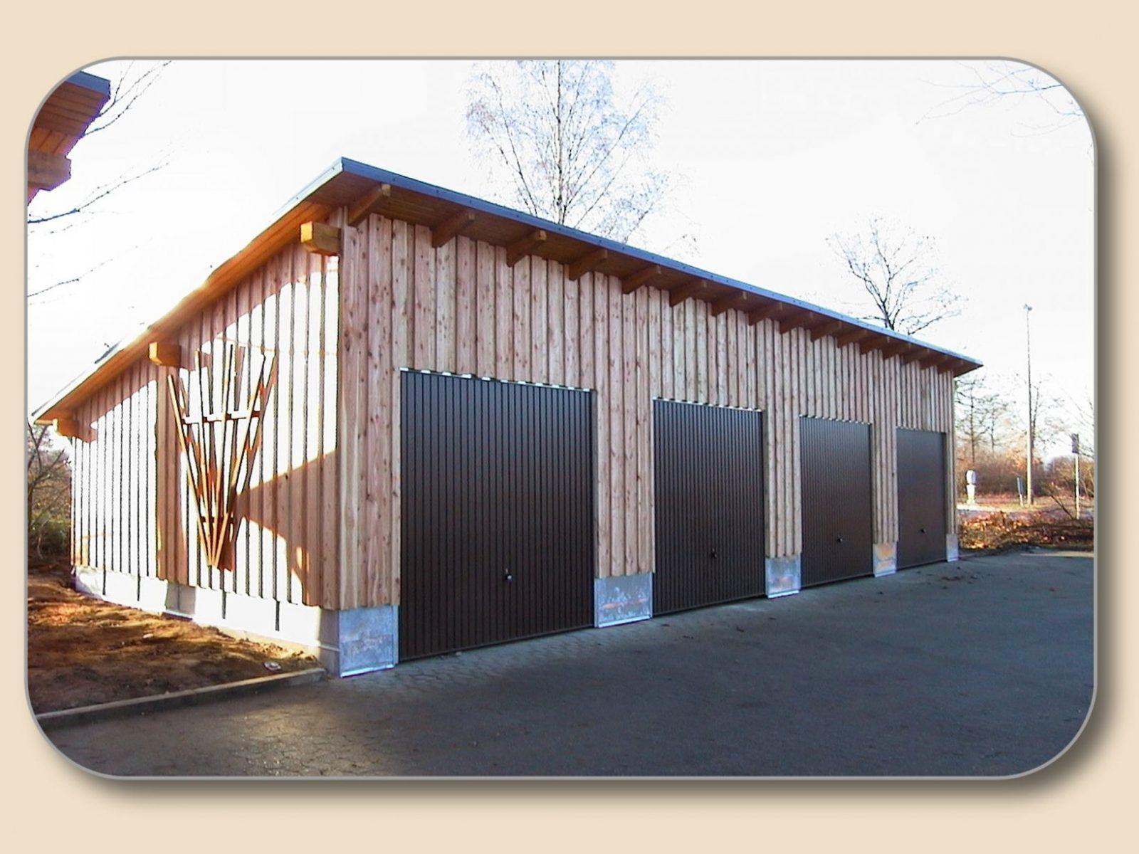 Carport Pultdach Selber Bauen Von Holzon von Pultdach Garage Selber Bauen Bild