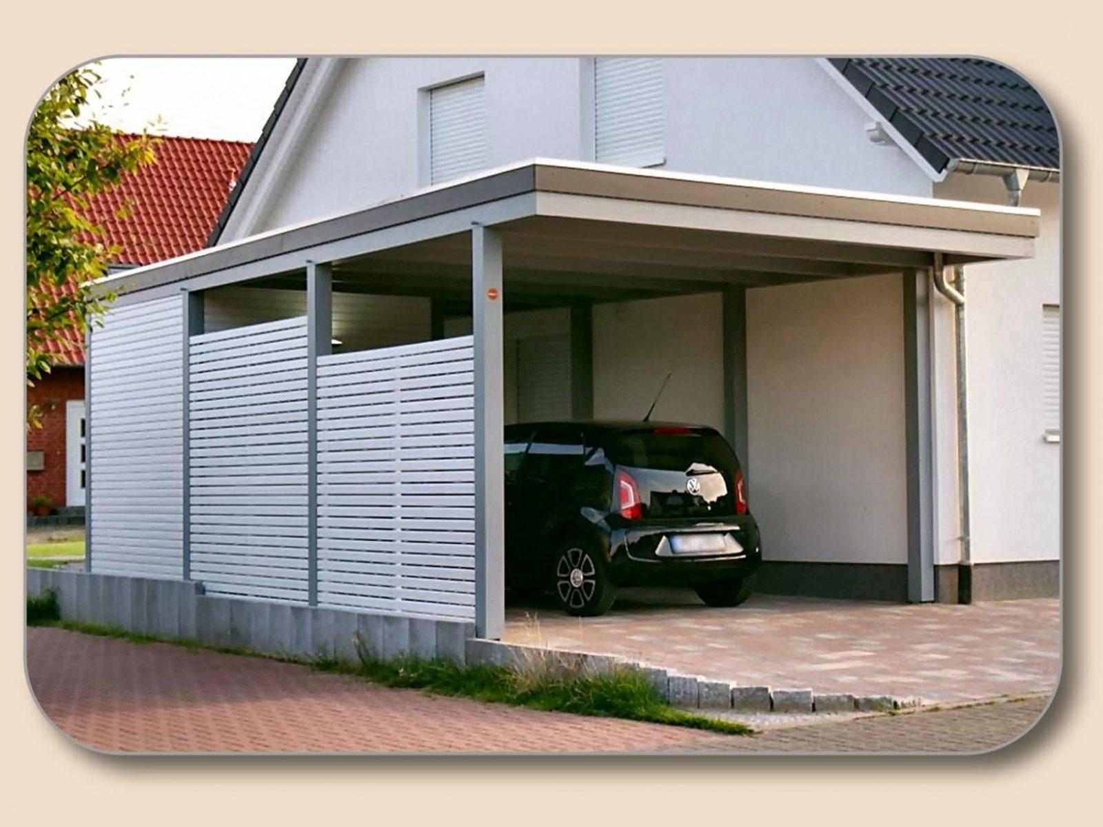 Carport Terrassenüberdachung Gartensauna Pavillon Holz Glas von Carport Am Haus Modern Bild