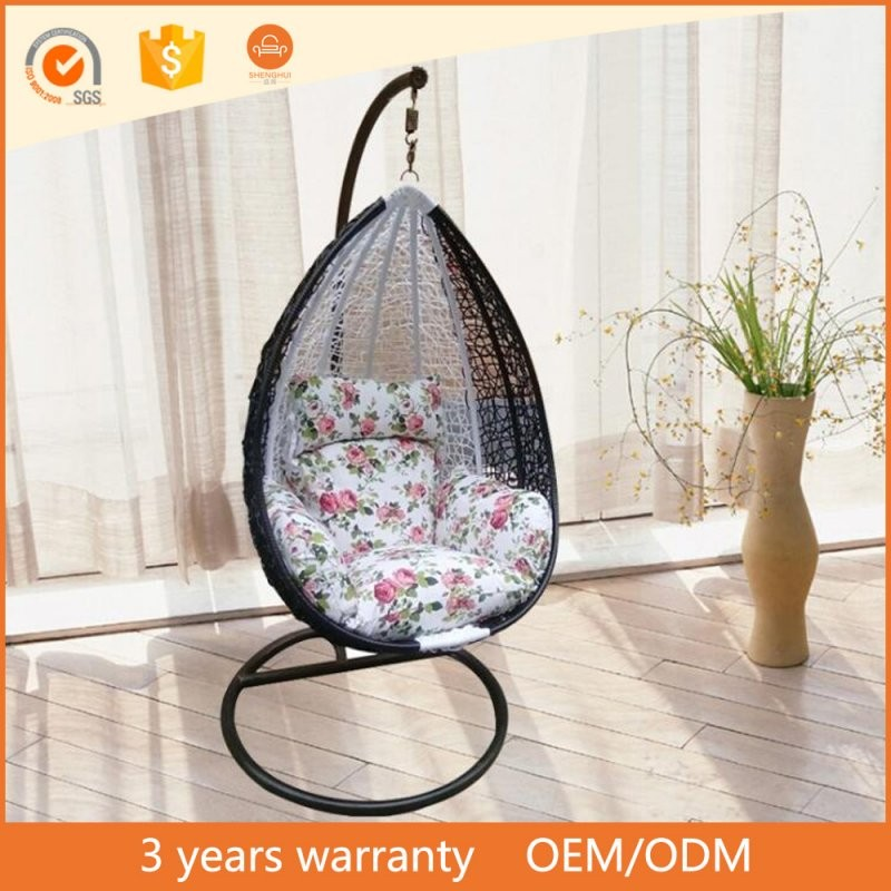 Cheap High Quality Round Rattan Bed Outdoor Swings For Adults  Buy von Round Rattan Swing Bed Bild