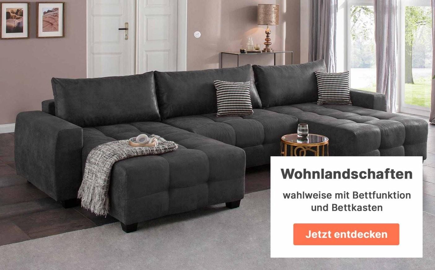 Cnouch  Polstermöbel  Wohnmöbel  Zum Onlineshop von Polsterecke Mit Bettfunktion Wahlweise Mit Federkern Photo