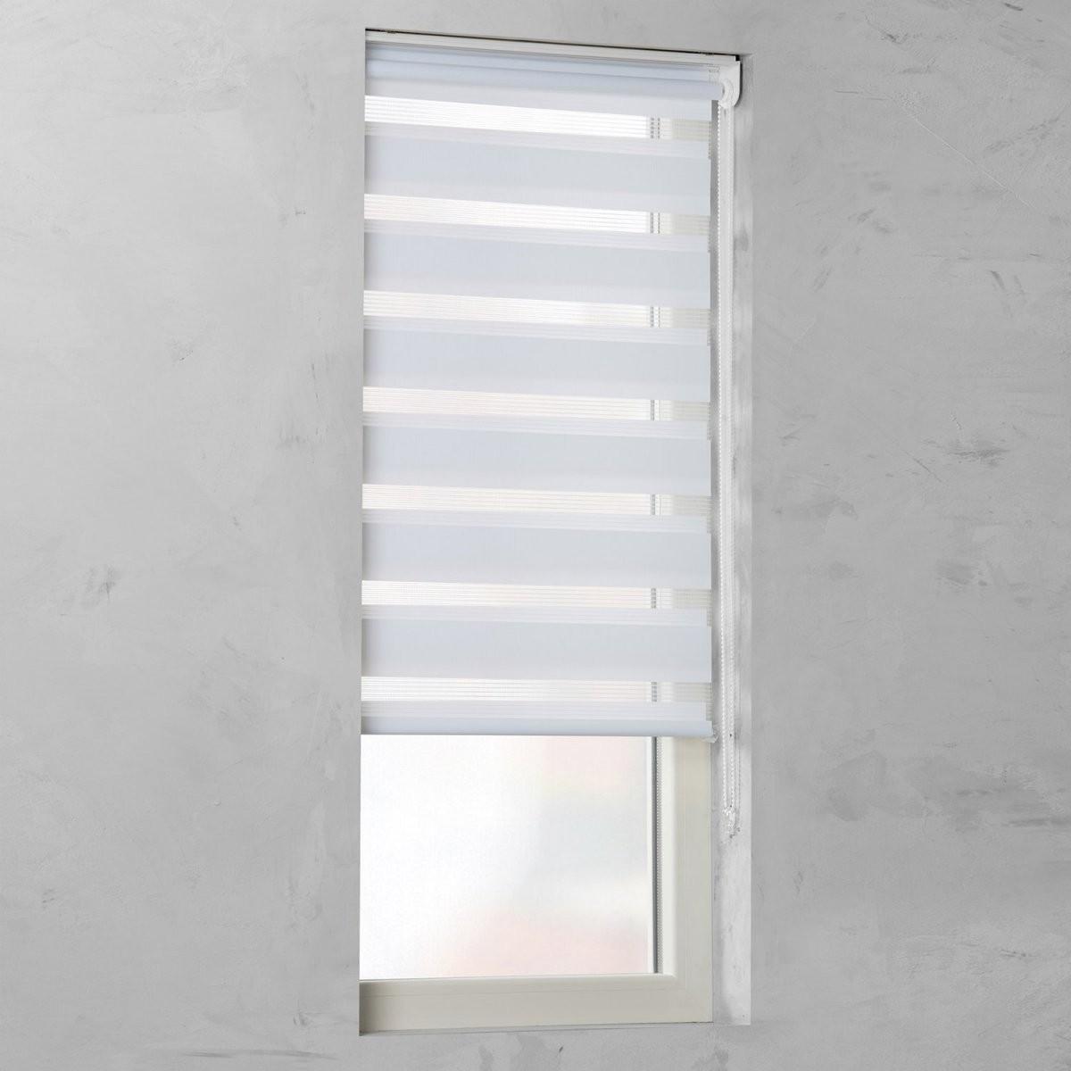 Cocoon Doppelrollo Tageslicht Weiß 100 Cm X 180 Cm Kaufen Bei Obi von Doppelrollo 180 Cm Breit Bild