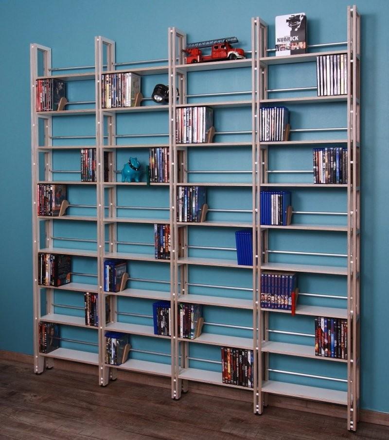 Comic Und Mangaregale Für Echte Sammler  Regaflex von Blu Ray Regal Beleuchtet Photo