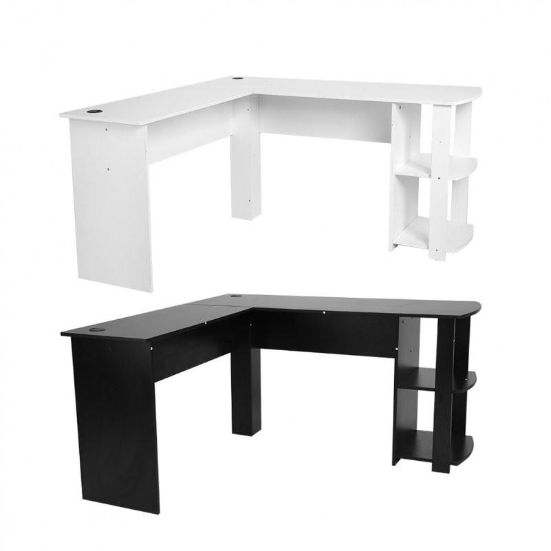 Computertisch Pc Tisch Schreibtisch Arbeitstisch Eckschreibtisch L von Schreibtisch In L Form Bild