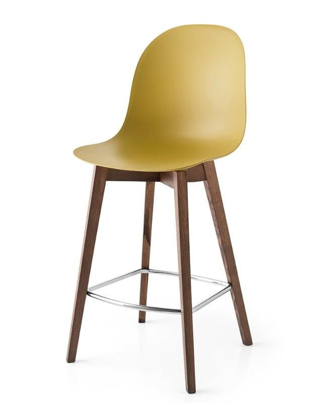 Connubiacalligaris Barhocker Academy Wood Cb1672 Sitzhöhe 65 Cm von Barhocker Sitzhöhe 90 Cm Bild