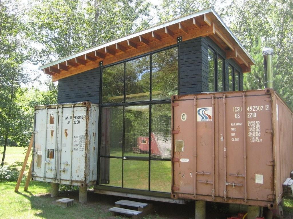 Containerhaus – Ein Neuer Bautrend  Bauratgeberdeutschland von Container Haus Bauen Lassen Bild