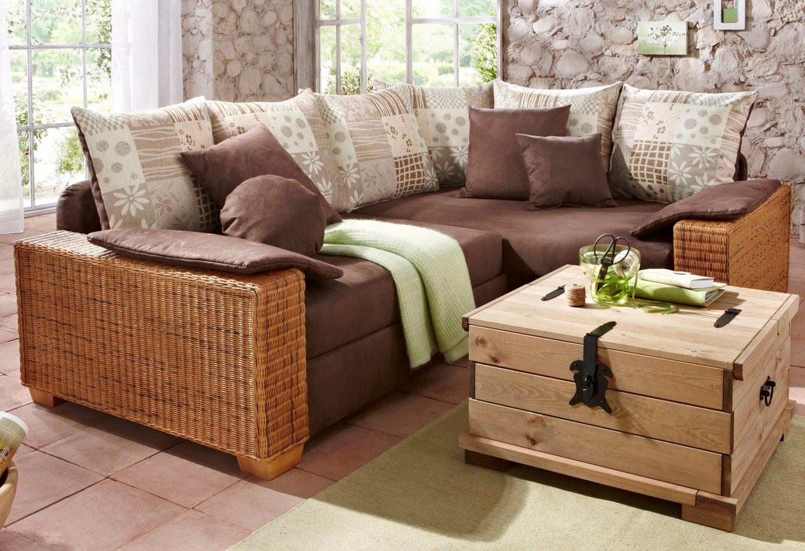 Couch Mit Holzfusen Für Wohnideen Sofa Mit Holzfusen  Jackenos von Rattan Sofa Mit Schlaffunktion Bild
