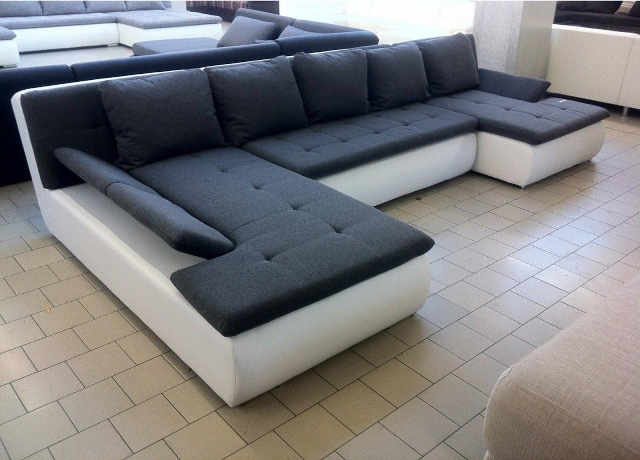 Couchdiscounter  Qualität Auswahl Service Und Günstige Preise von Günstige Wohnlandschaft Mit Bettfunktion Bild