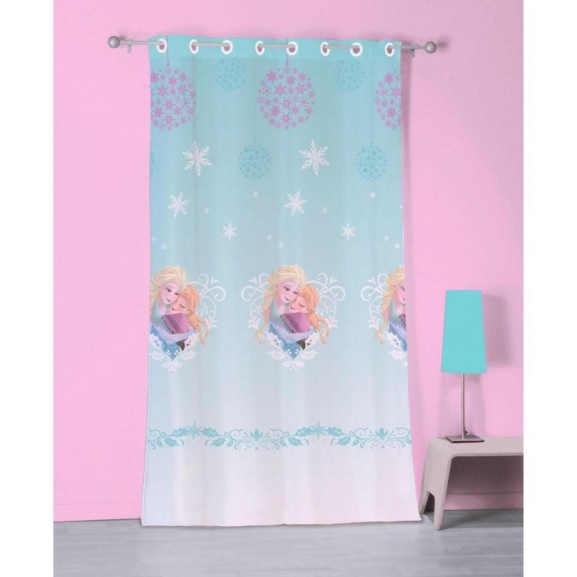 Cti Disney Frozen Vorhang 140X240 Cm Online Kaufen  Babywalz von Anna Und Elsa Gardinen Bild