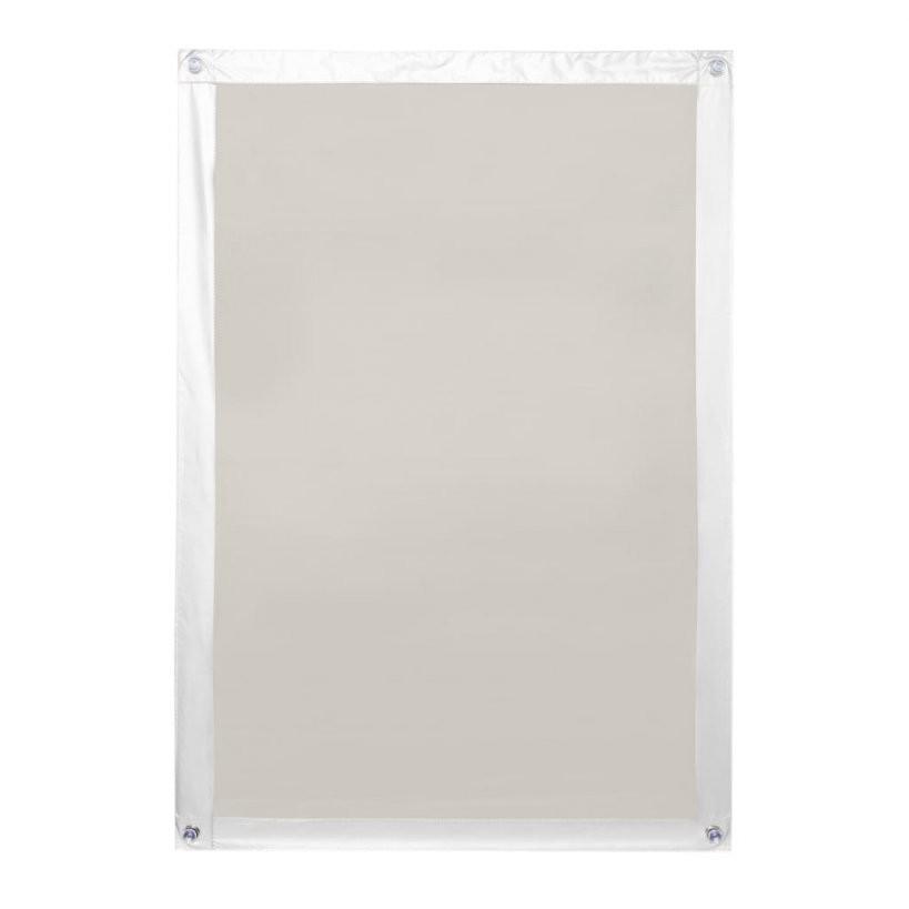 Dachfenster Sonnenschutz Haftfix Ohne Bohren Beige  Real von Roto Dachfenster Plissee Ohne Bohren Bild