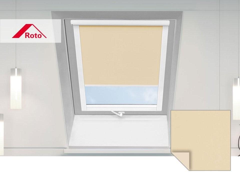 Dachfensterrollos  Für Unterschiedliche Dachfenstertypen von Roto Dachfenster Plissee Ohne Bohren Bild