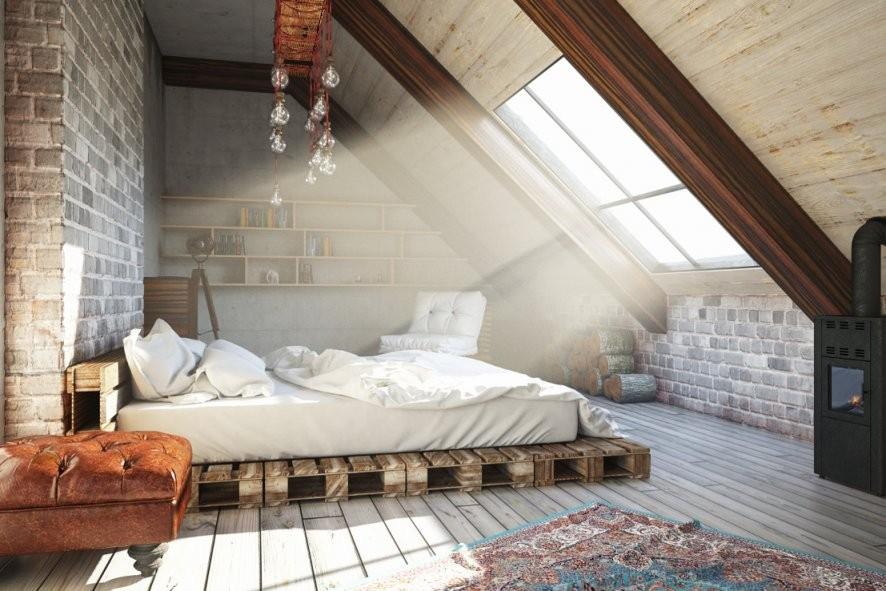 Dachschrägen Ausleuchten – 7 Tipps Für Beleuchtung Im Dachgeschoss von Bilder An Schrägen Wänden Bild