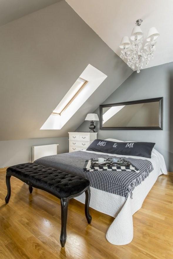 Dachschrägen Gestalten Mit Diesen 6 Tipps Richtet Ihr Euer von Schlafzimmer Mit Dachschräge Farblich Gestalten Bild