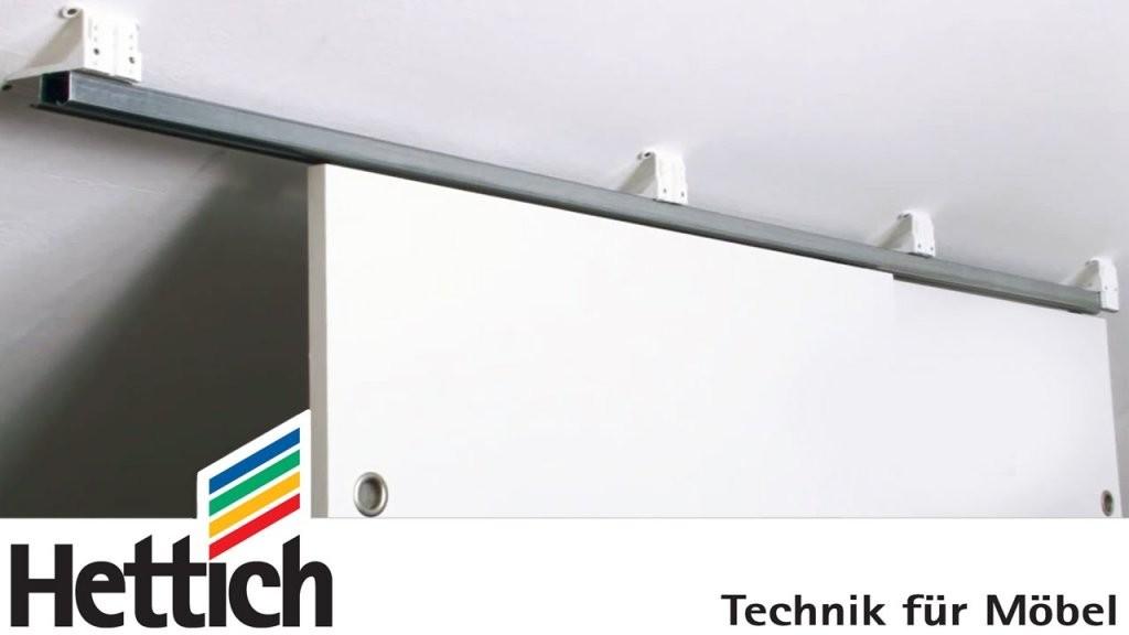 Dachschrägenadapter Zur Schiebetürmontage Hettich Für Heimwerker von Schiebetür Dachschräge Selbst Bauen Bild