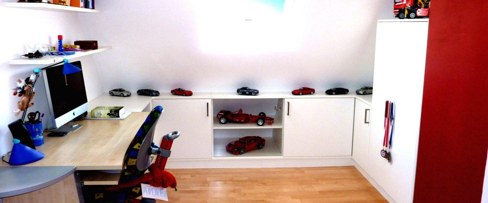 Dachzimmer Einrichten von Jugendzimmer Mit Dachschräge Gestalten Bild