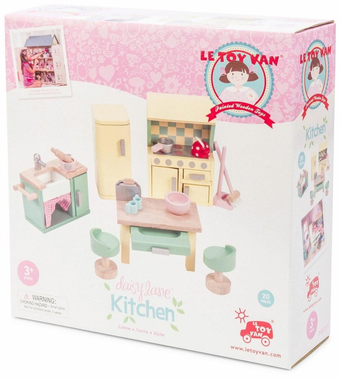 Daisylane Kitchen Wooden Dolls House Furniturele Toy Van Me059 von Le Toy Van Küche Bild