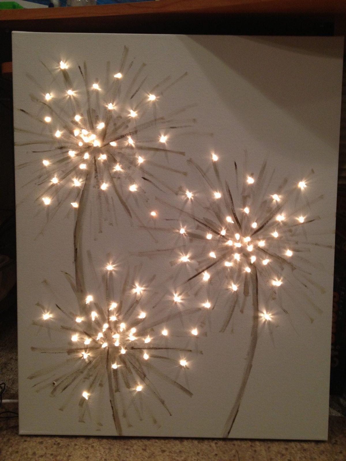 Dandelion Canvas  Hausideen  Bastelideen Leinwandbilder Selber von Led Leinwandbild Selber Machen Photo