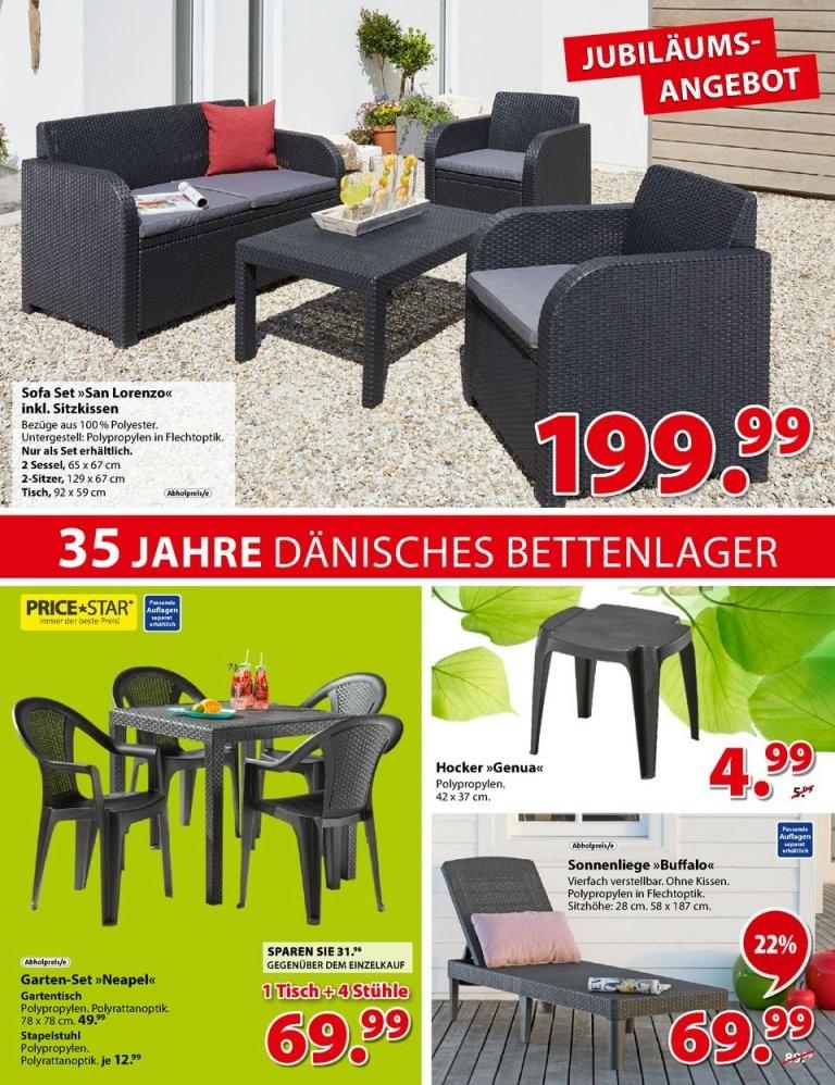 Dänisches Bettenlager Angebote  Gartenmöbel Solarleuchten  Seite von Angebote Dänisches Bettenlager Gartenmöbel Bild