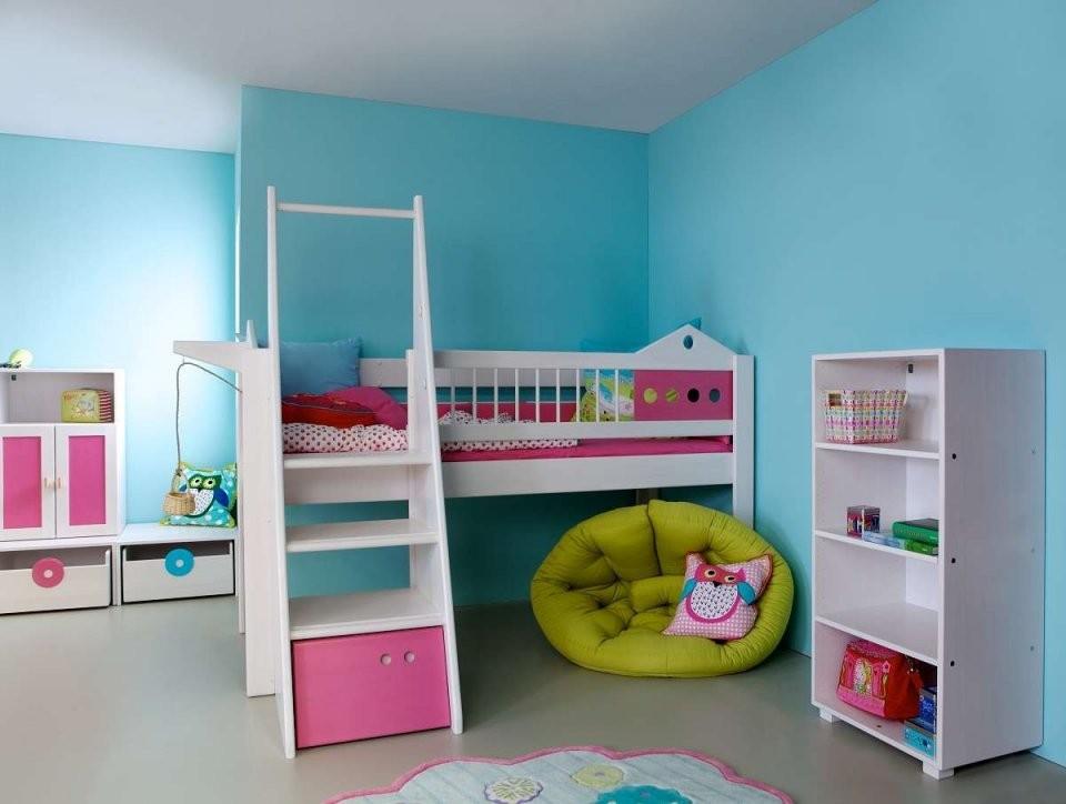 Das Beste Kinderbett Mit Treppe Ideen  All Ouchie von Halbhohes Kinderbett Mit Treppe Bild