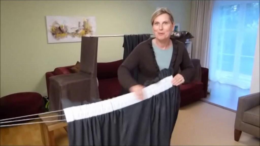 Das Geheimnis Der Vorhaenge Teil1  Faltenband Pliseeband  Youtube von Gardinen Selber Nähen Faltenband Photo