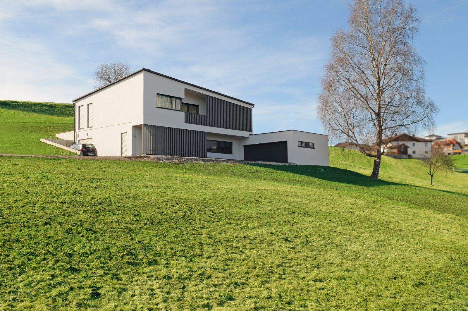 Das Hanghaus – Bauen Am Hang  Mhaus Blog  Holzbauweise von Einfamilienhaus Am Hang Grundrisse Photo