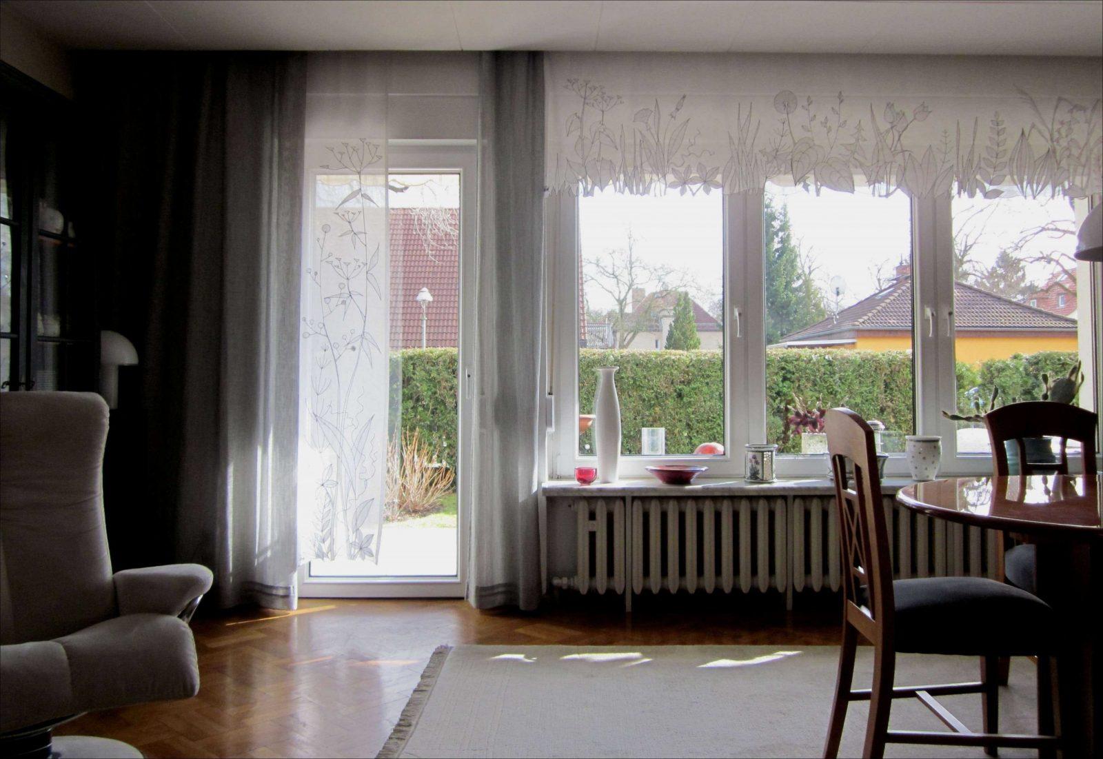 Das Inspirierend Gardinen Für Fenster Mit Balkontür Bieten Ihre Für von Gardinen Für Balkontür Und Fenster Bild