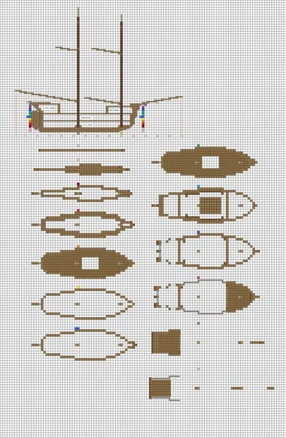 Das Ist Eine Große Hilfe Wenn Man Schiffe Baut  Minecraft von Minecraft Baupläne Zum Nachbauen Bild