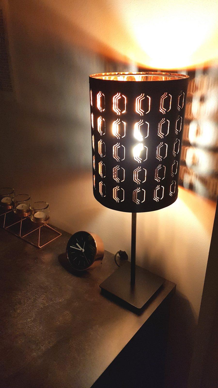 Das Kupferzimmer  Mellygolucky von Ikea Lampe Schwarz Kupfer Photo