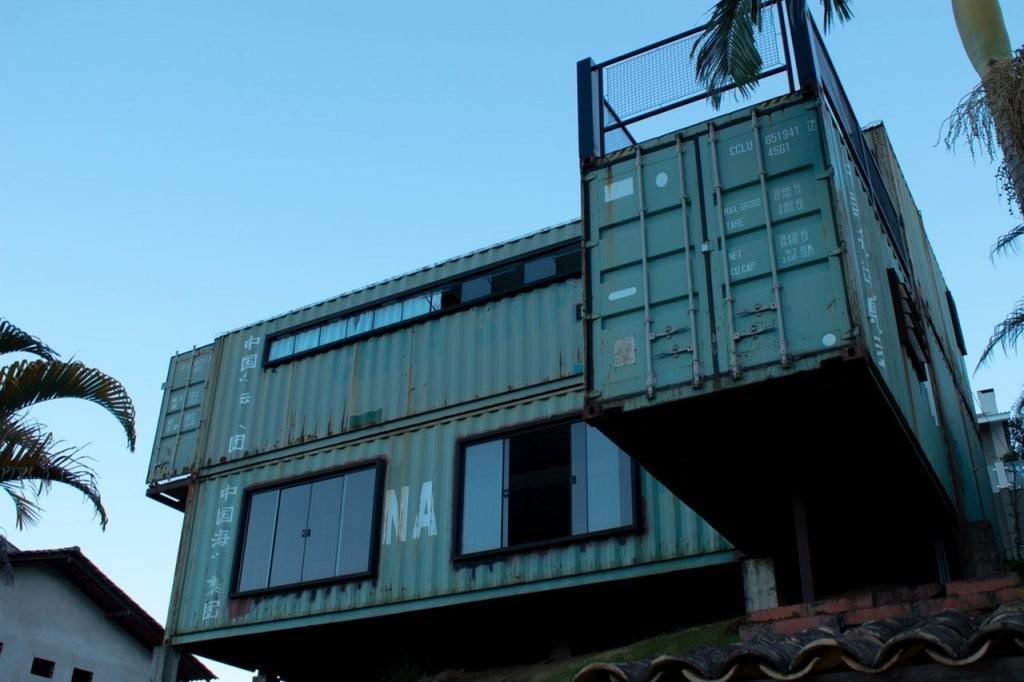 Das Leben In Einem Containerhaus  Projekt Promotion von Container Haus Kaufen Deutschland Bild