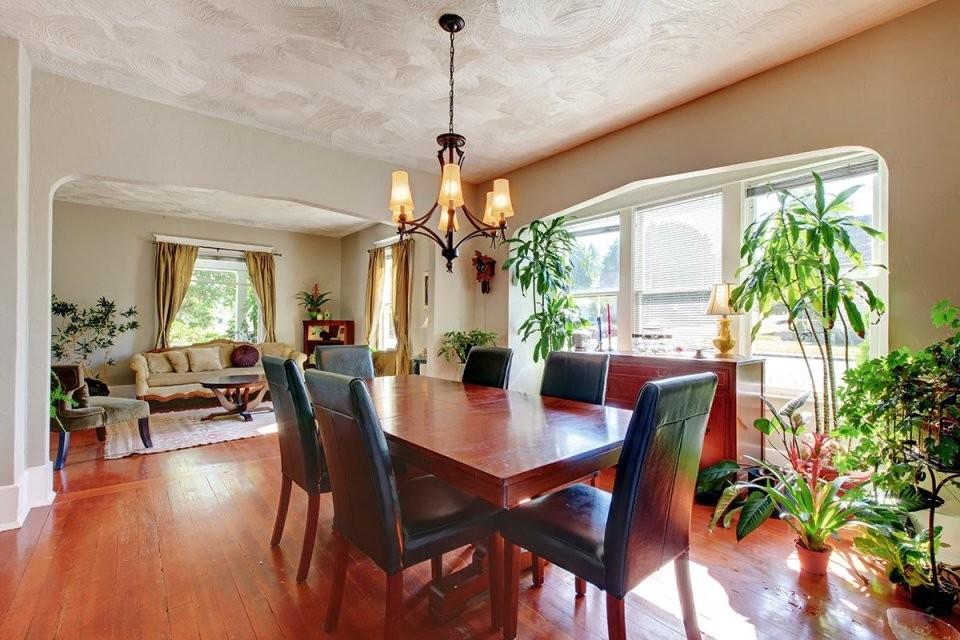 erfreut wohn und esszimmer in einem raum küche wohnzimmer