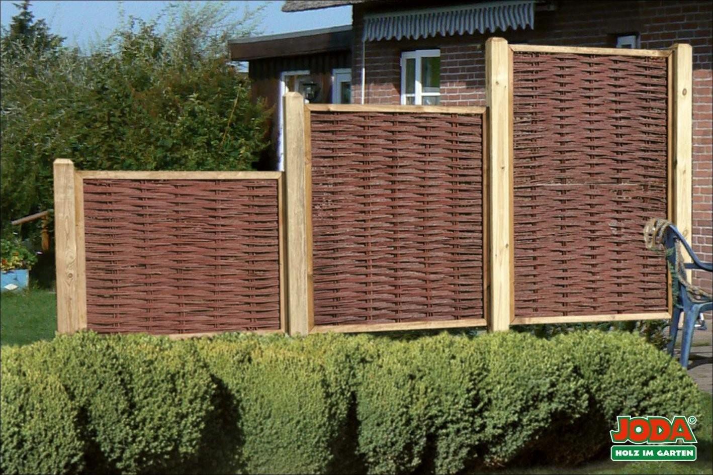 Deko Mit Holz Selber Machen Idee Kreative Wohngestaltung Sichtschutz von Kreativer Sichtschutz Selber Bauen Photo