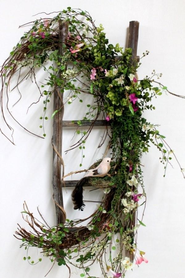 Dekoideen Im Frühling  Schöne Arrangements Für Die Tafel Und Haustür von Deko Ideen Vor Der Haustür Frühling Bild