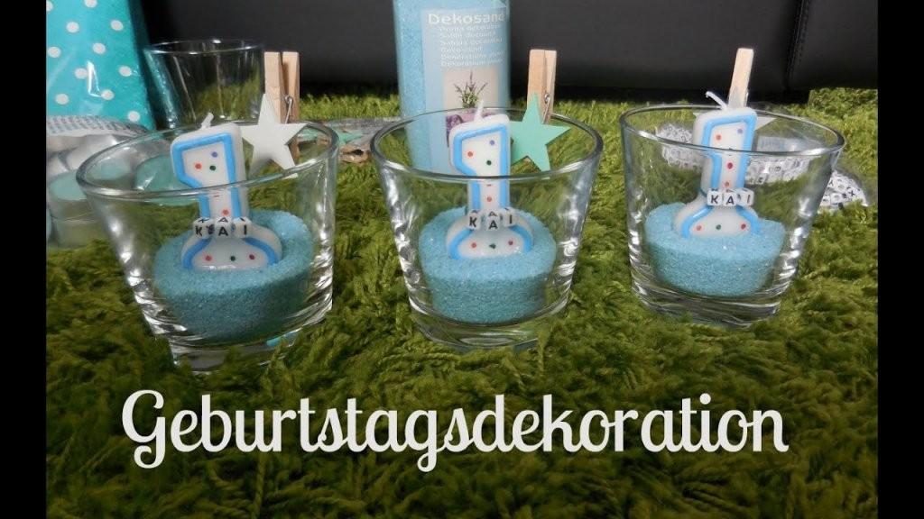 Dekoration Für Den 1 Geburtstag I Geburtstagsdeko I von Tischdeko Kindergeburtstag Selber Basteln Bild