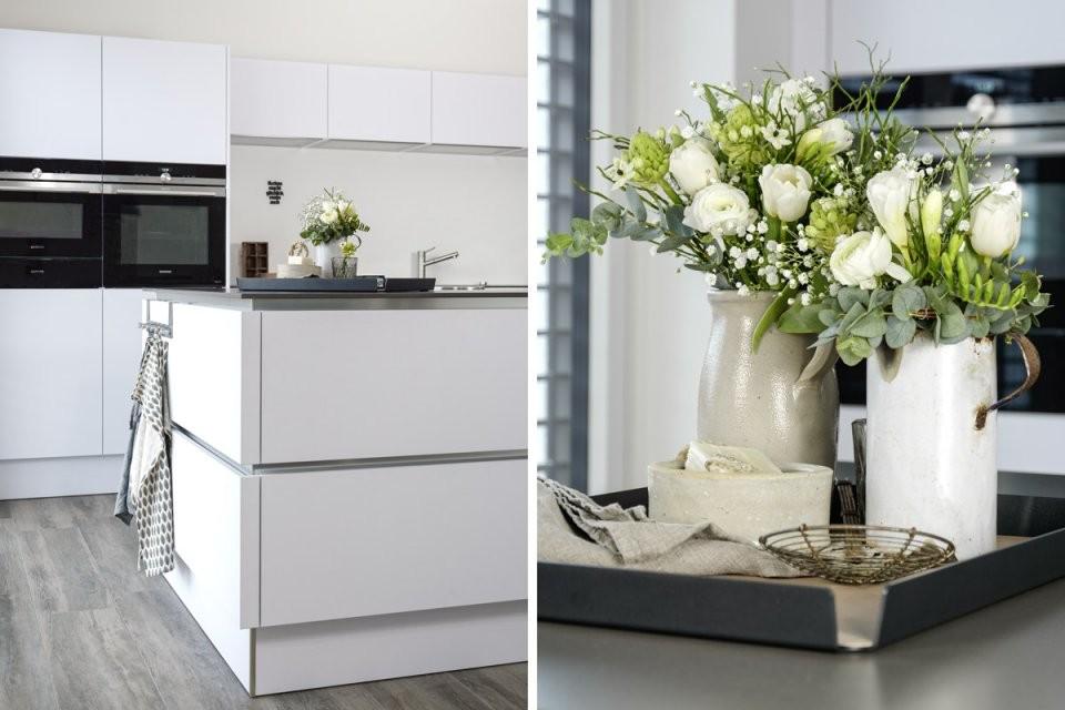 Dekoration  Praktisches Tablett Für Die Kücheninsel*  Mxliving von Dekoration Für Die Küche Bild